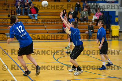 04-25-13 Sandburg Boys Volleyball LW Central