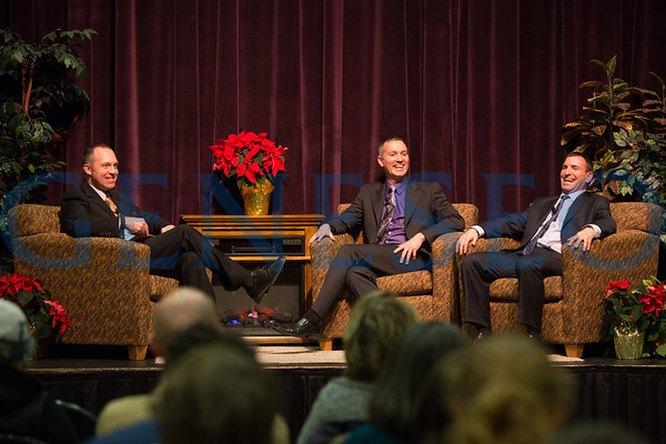 All College Hour Speaker 12/04/12 - Larry Rothchild and James Patrick