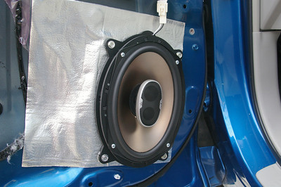 2008 Toyota Highlander non JBL Front Speaker Installation - USA
