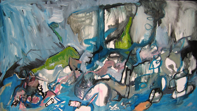 Swell (diptych)