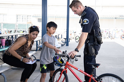 Safety First at Valentine Elementary's Bike Rodeo
