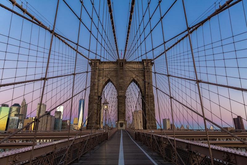 Brooklyn Bridge to Manhattan Sunrise-.jpg