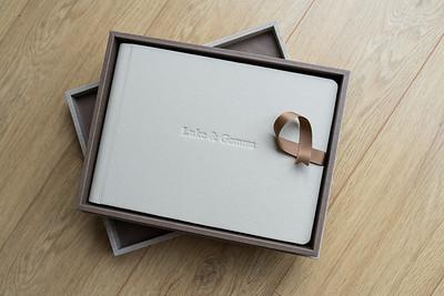 Anne & Graham Parent Album 30cm x 20cm with Design box & Bragg Books