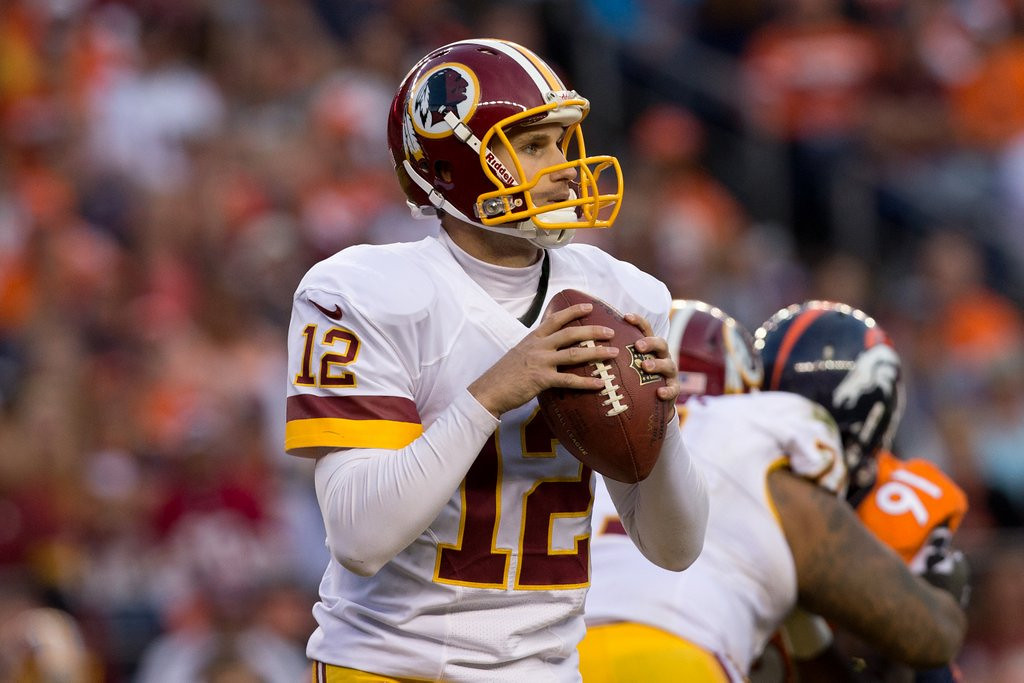 . <p><b> Redskins at Falcons (-7):</b> <p>Here�s your Week 15 lineup update for the NFL�s most dysfunctional team: Kirk Cousins will be the starting quarterback; Rex Grossman will be the backup, Robert Griffin III will be inactive, and coach Mike Shanahan will be radioactive. <p>Pick: <b>Redskins by 7</b> <p>     (Justin Edmonds/Getty Images)