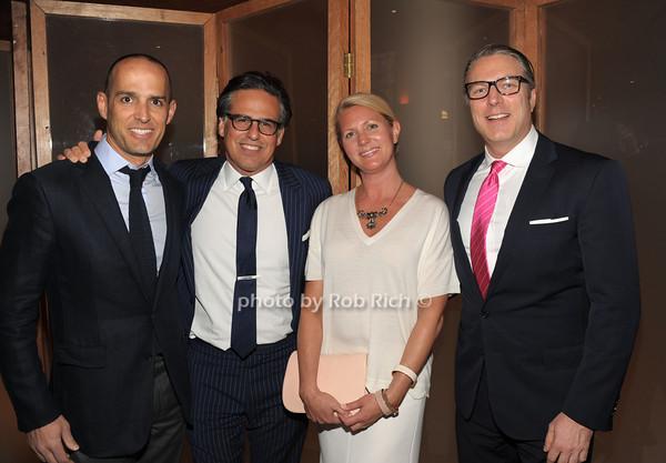 Alfonso Paradinas, Mike Cohen, Vicky Cohen, Bill Melnick   photo  by Rob Rich © 2014 robwayne1@aol.com 516-676-3939