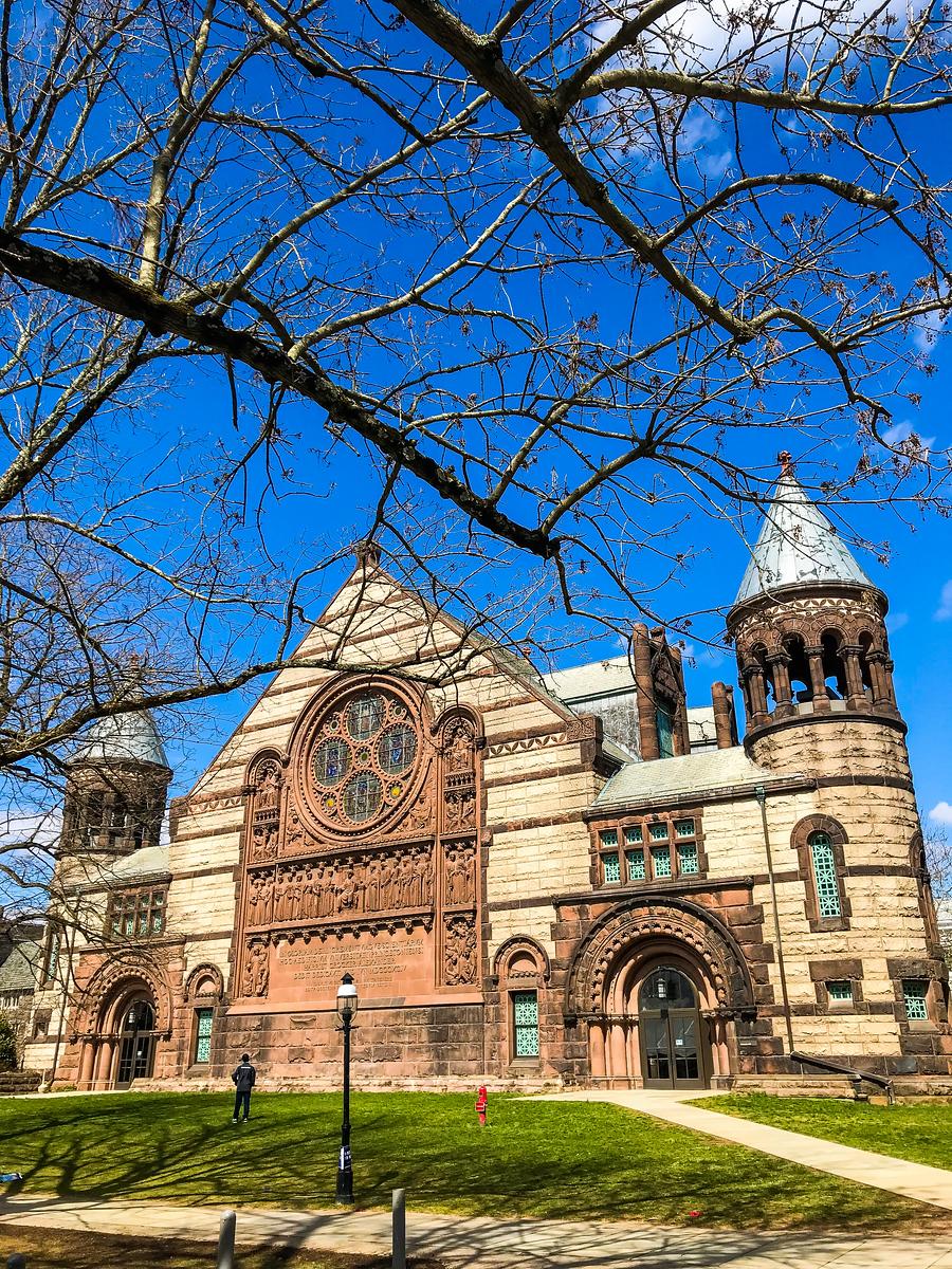 普林斯顿大学,著名学府美丽校园