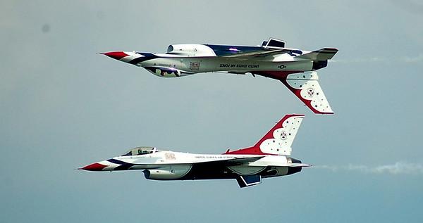 Whiteman AFB 2010 Thunderbirds