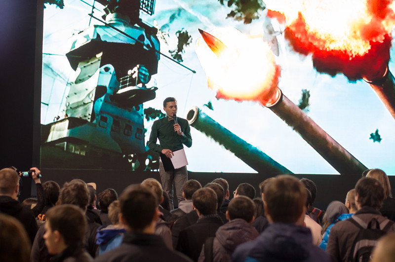Warthunder at Igromir 2013
