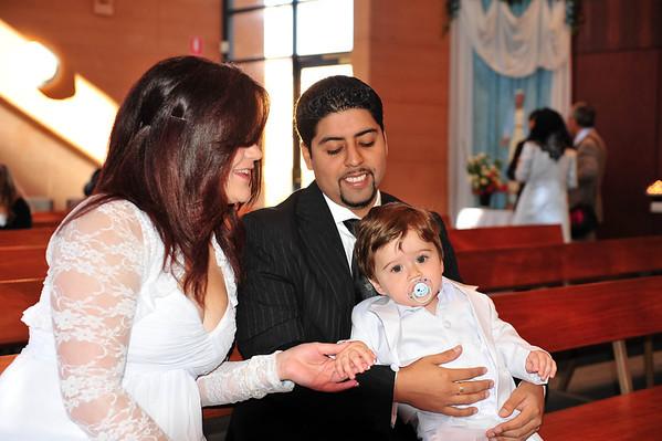 Miguel Eduardo's Baptism & Birthday