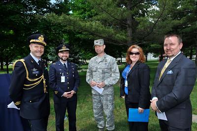 8460 John Pirelli Memorial Unveiling at the Air Force Museum 5-10-12