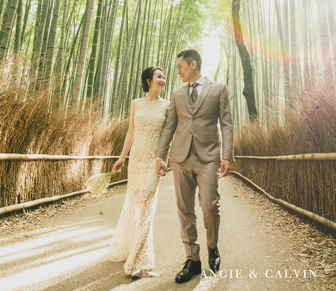 Overseas Pre Wedding - Angie and Calvin - Kyoto