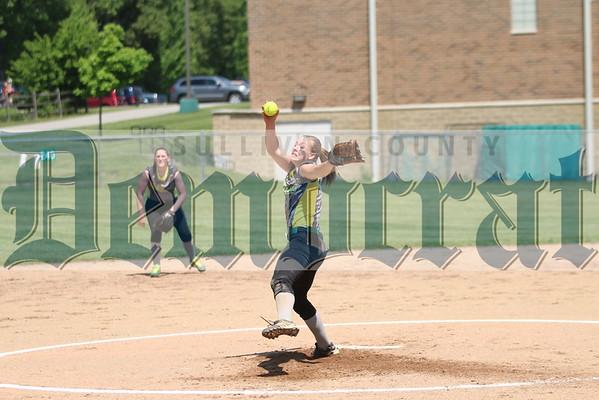 Eldred vs Livingston Manor Softball Sectionals