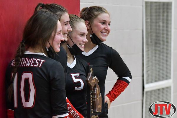 Northwest vs Mason Volleyball Div. 1 District Final 11-5-20