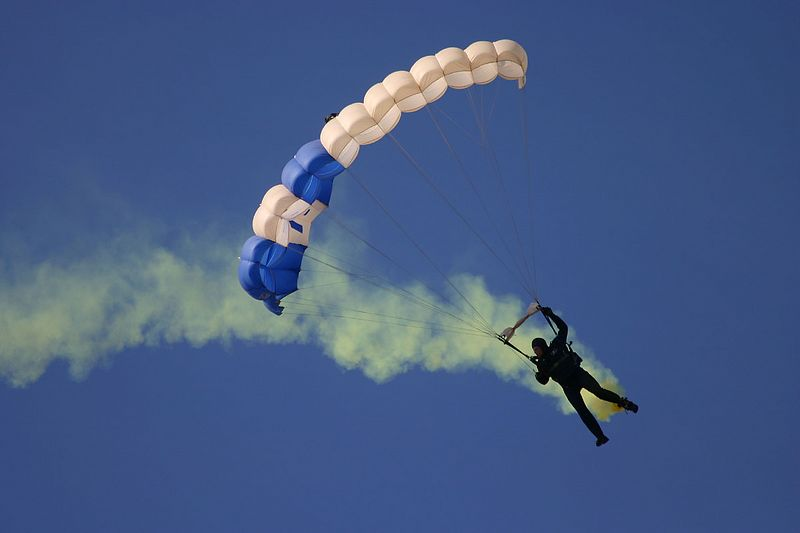 "USAF Academy ""Wings of Blue"" Parachute Team"