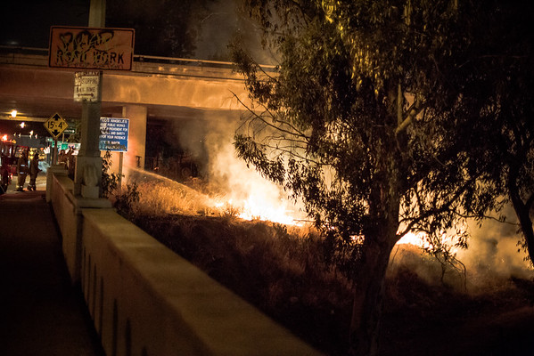 LA Fire August 16, 2015