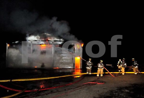 04 09 2013 6166 BARNARD MILL RD.RINGWOOD IL SHED FIRE