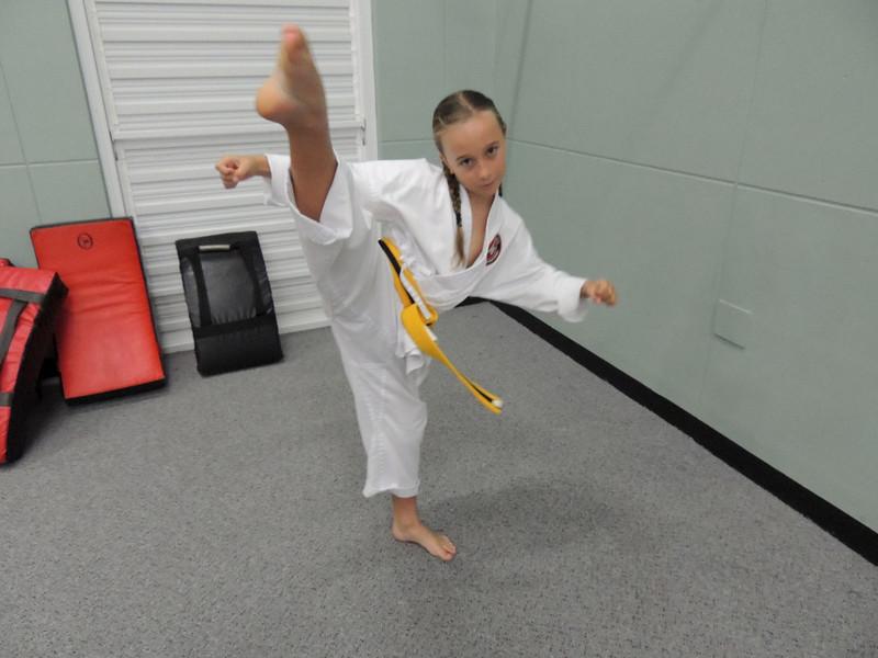 Combat Karate Junior Student of the Month Award - Tarah Shelley November 2012