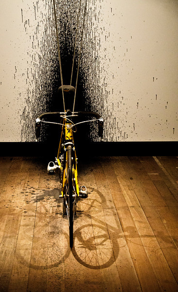 bicycle and shadow - a favourite theme from Parma reappears