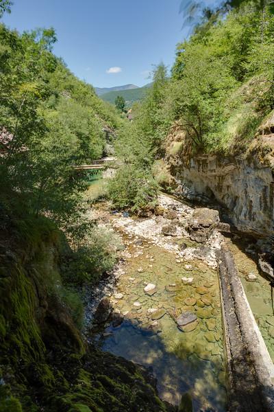 Near the entrance to Bastašica cave