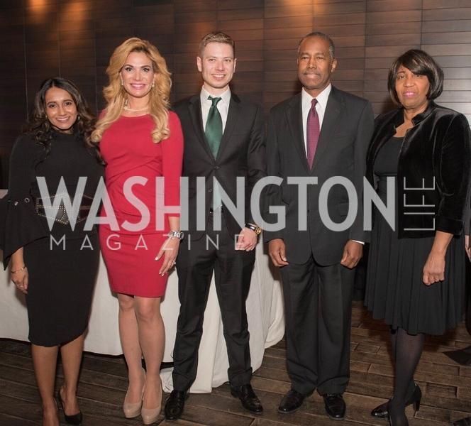 Merilyn Carson, Martha Boneta, Yair Netanyahu, Secretary Ben Carson, Mrs. Candy Carson,.JPG
