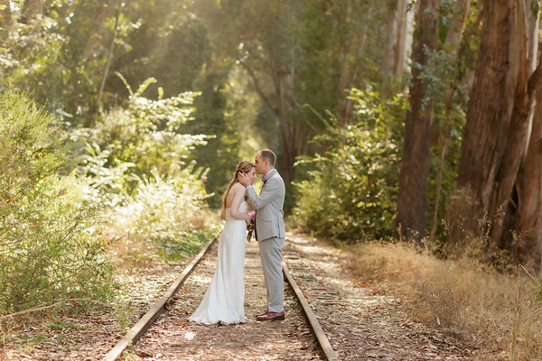 Lindsay and Jeremy Elopement in Aptos