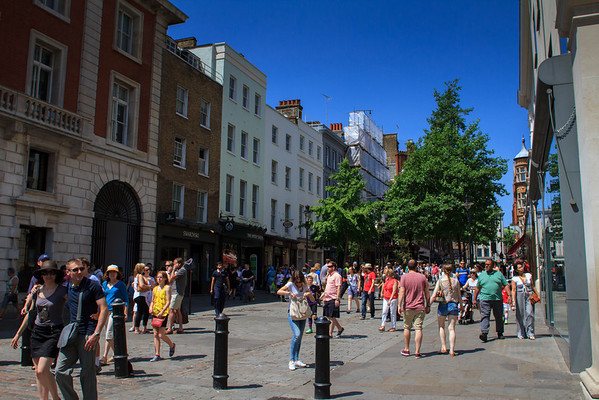 London: Covent Garden, The Strand and Fleet Street