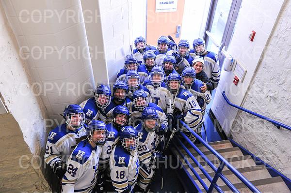 Hamilton Women's Hockey v Morrisville 11-26-19