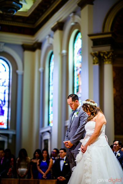 San Jose Basilica Wedding