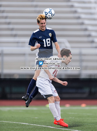 11/9/2016 - Boys Varsity Soccer - D1 North Semifinal - Lexington vs Lowell