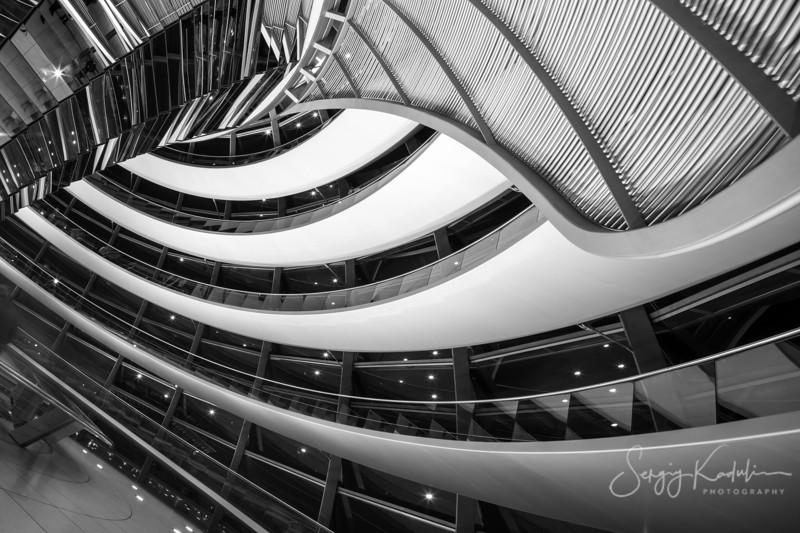 Interior of Reichstag, Berlin