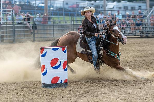 Warren County Fair-Barrel Race