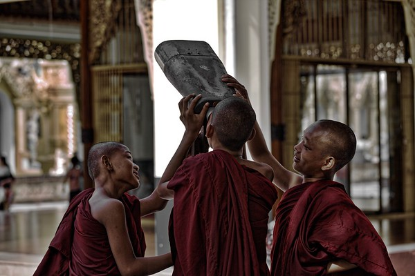 BUDDHIST MONKS  / 320 Photos