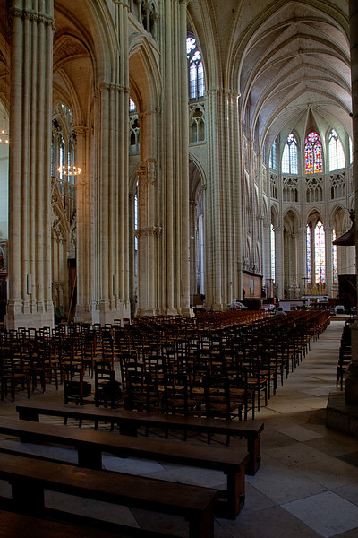 Meaux, Saint-Etienne Cathedral Nave and Choir