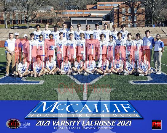 MCCALLIE LACROSSE 2021
