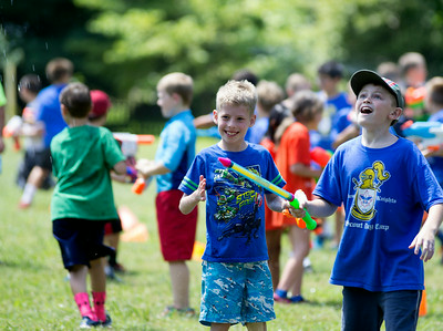 7/29/2014 - cub scout water battle