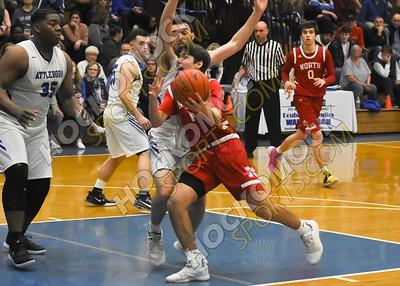 Attleboro - North Attleboro Boys Basketball 2-19-20
