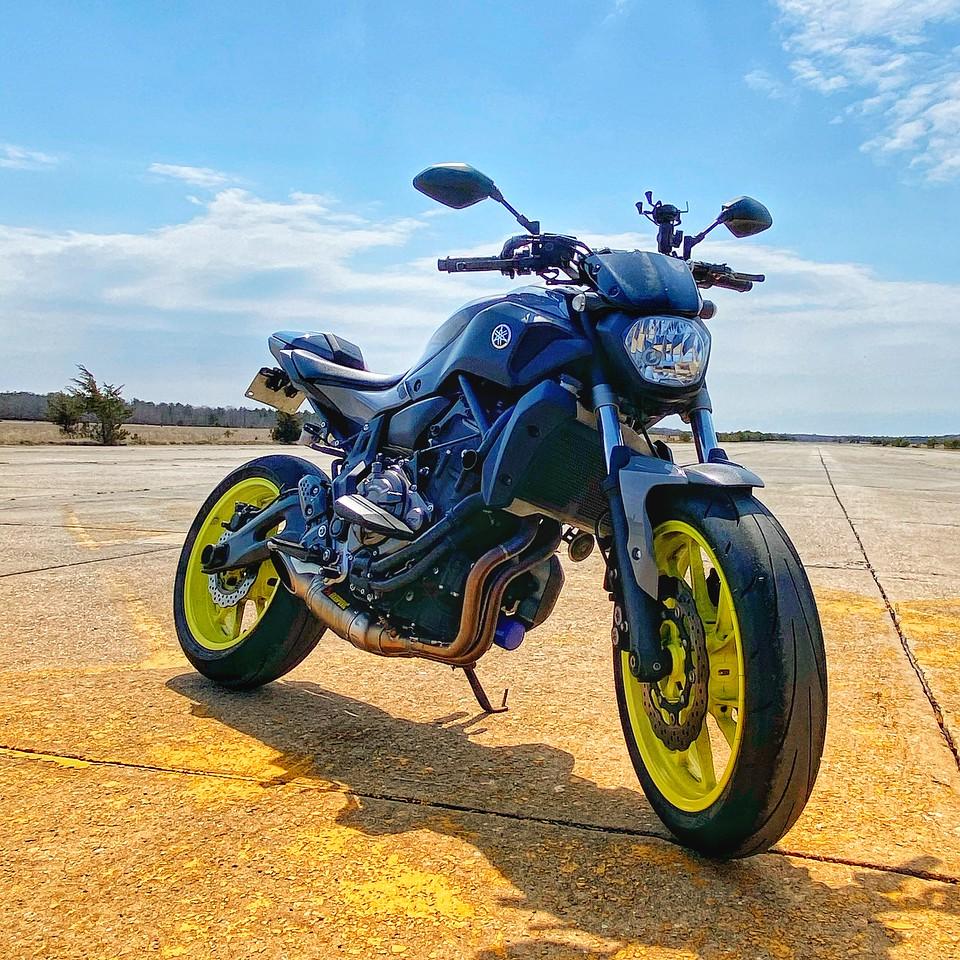 Fuzzygalore Motorcycle Blog - 2016 Yamaha FZ07