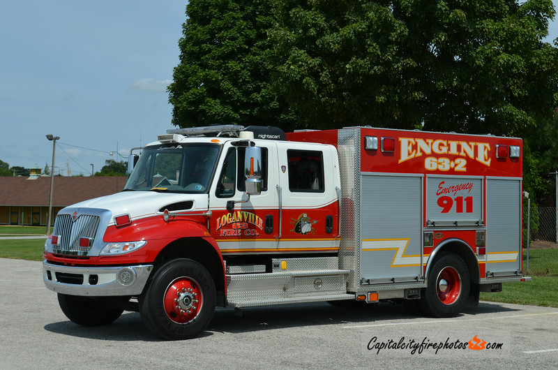 Loganville Engine 63-2: 2006 International/KME 1500/500