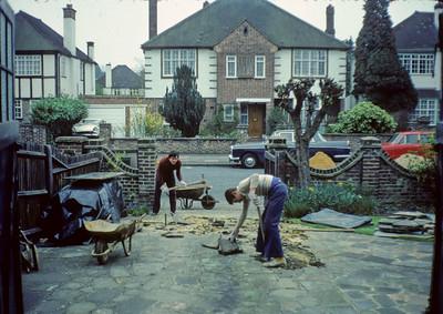 John Potter's Parents' Driveway