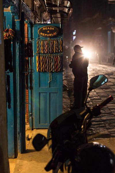 Night time Kathmandu - Shivaratri Festival