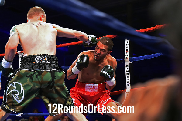 """Bout #6  Samuel """"The Who Can Mexican"""" Vasquez Jr.  vs  Juan """"The Beast"""" Rodriguez Jr. - Welterweights"""