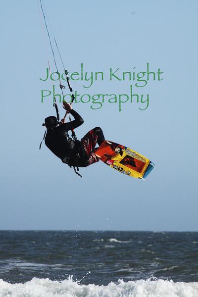 Stinson Beach Kite Surfers
