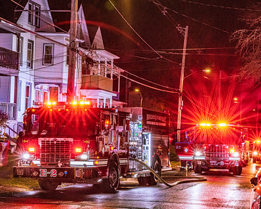 Structure Fire - South Cherry St. - City of Poughkeepsie FD. -12/4/2020