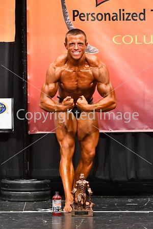 Mens Most Muscular Award
