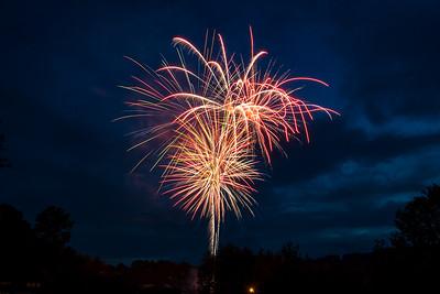2017 Fireworks Cashiers