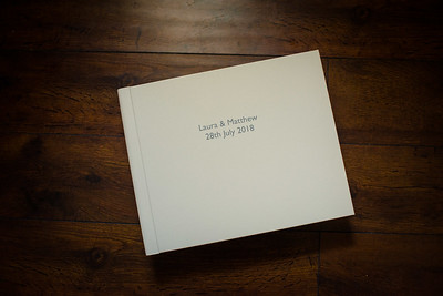 Wedding albums and books