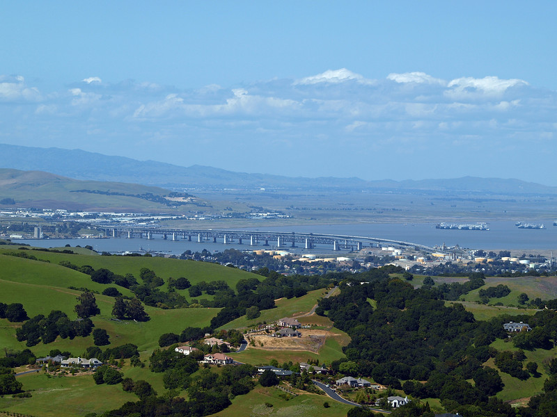 Benicia Bridge from Briones