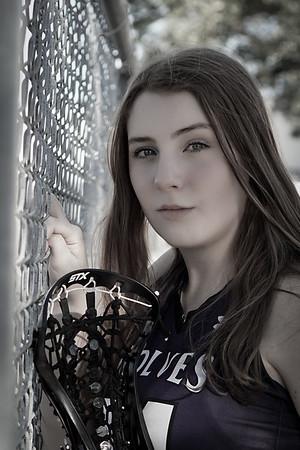 Jillian Lacrosse Portraits