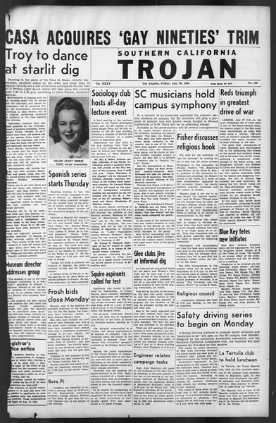 The Trojan, Vol. 35, No. 143, July 28, 1944