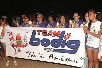 Teams: Tents and Batons